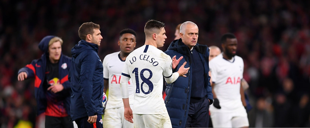 Mourinho hails the spirit and mentality of his Tottenham players after defeat to RB Leipzig in the Champions League round of 16 First-leg clash [Getty]