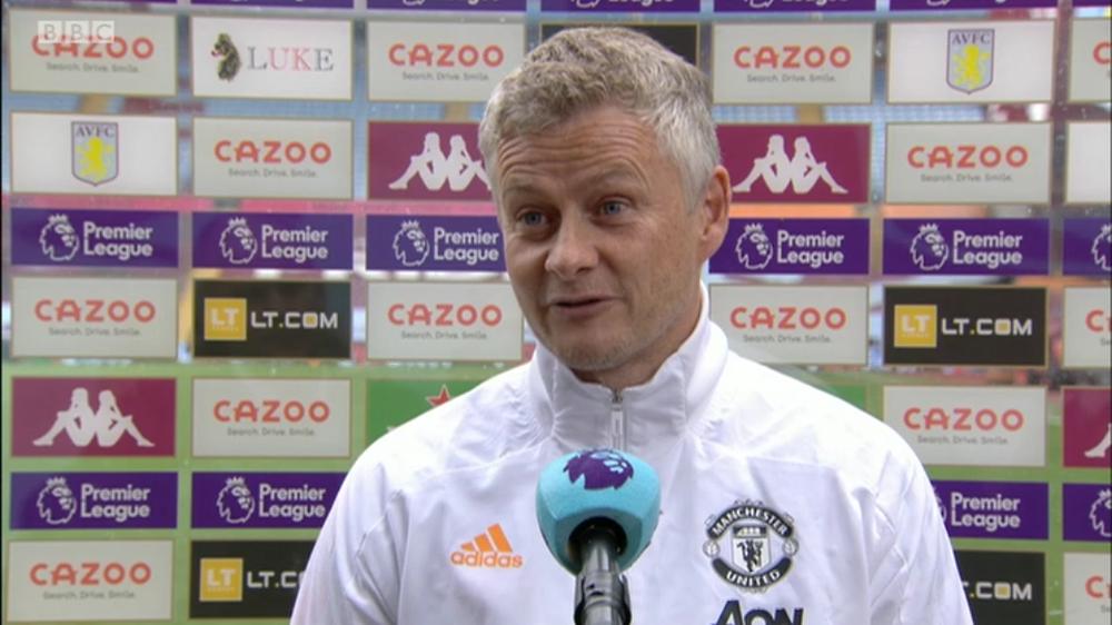 Solskjaer pleased Man Utd beat Aston Villa [BBC Sport]