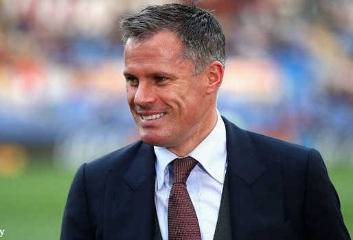Carragher on which club will make the top four between Liverpool and Everton.