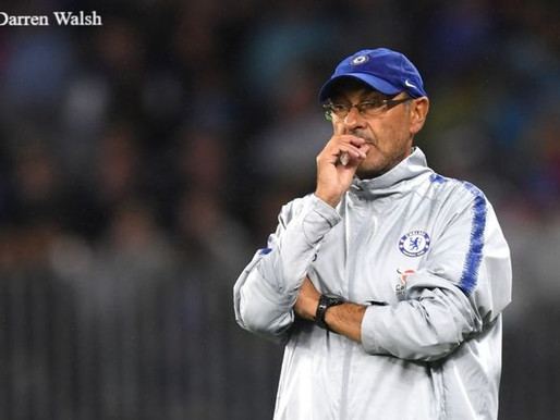 """Sarri after draw with Everton: """"We were a bit unlucky."""""""