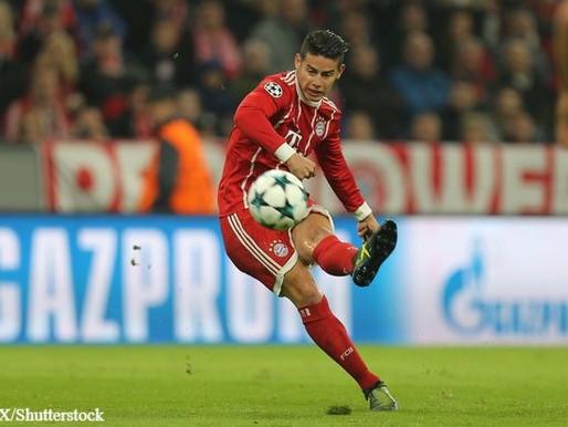 James Rodriguez: I'm happy at Bayern.