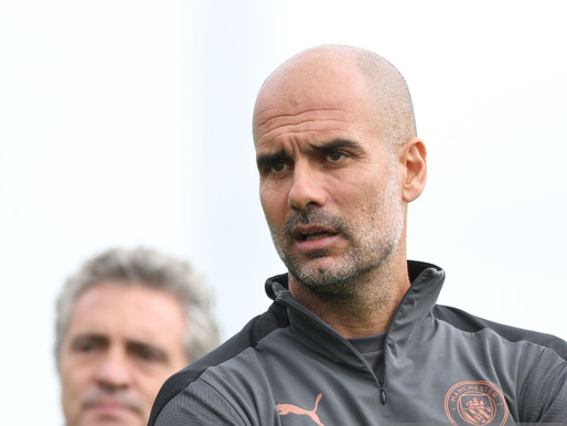 Man City boss Guardiola: 'We are not thinking of the table'