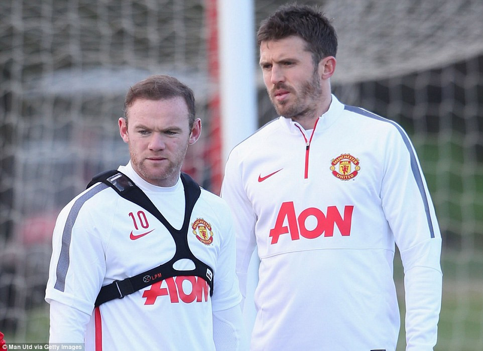 Rooney and Carrick.