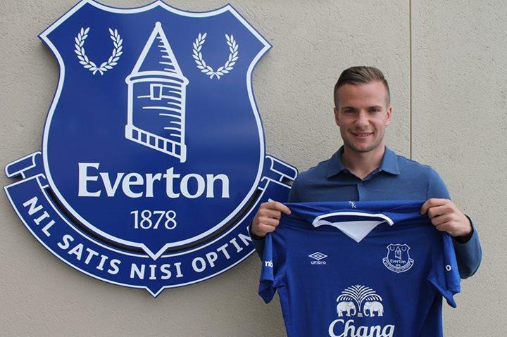 Tom Cleverly [Source - Evertonfc.com]