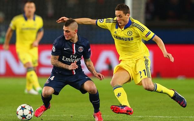 Chelsea v PSG.
