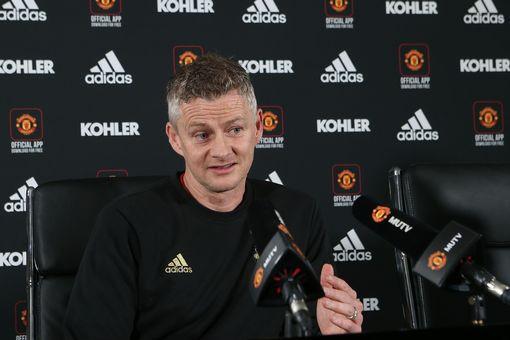 Solskjaer. (Image: Man Utd via Getty Images)