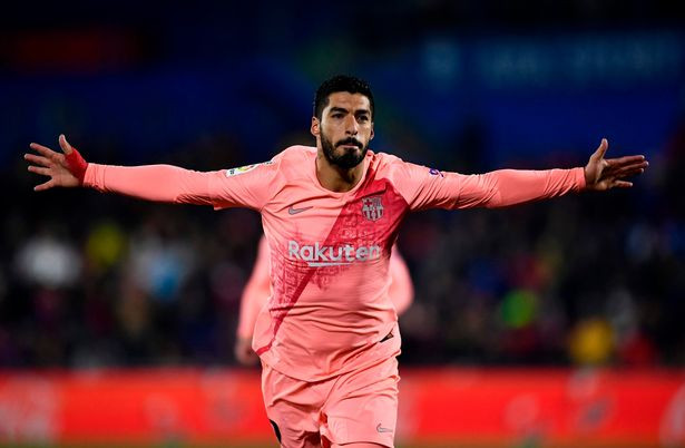 Reports claim Barca are looking for a long-term replacement for veteran forward Luis Suarez. [AFP/Getty]