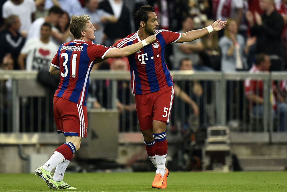 Bayern Munich vs. Barcelona.