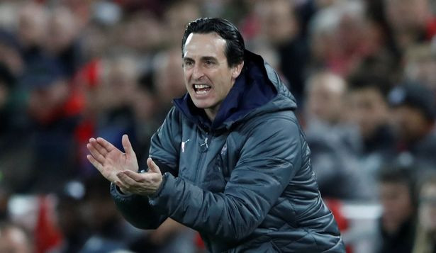 Unai Emery. (Action Images via Reuters)