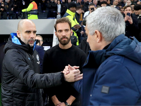 Guardiola has been impressed with Mourinho's work at Tottenham.
