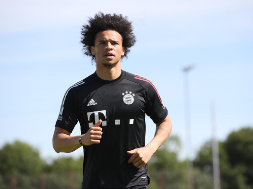Sane: 'Pep Guardiola has helped me to reach a very high level.'