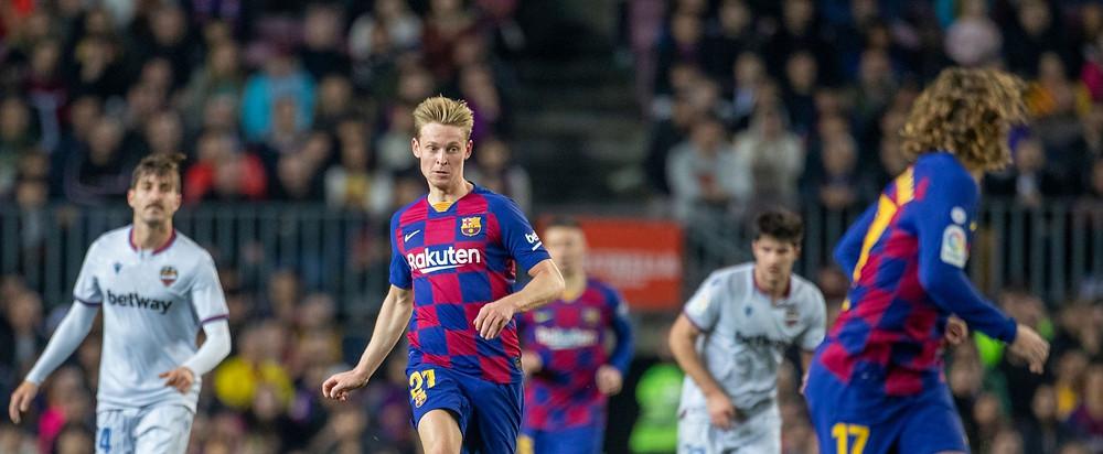 De Jong has two goals in 37 games this season. [Getty]
