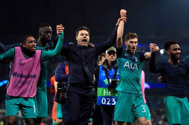 Spurs produced an historic performance to reach the last four. [PA]
