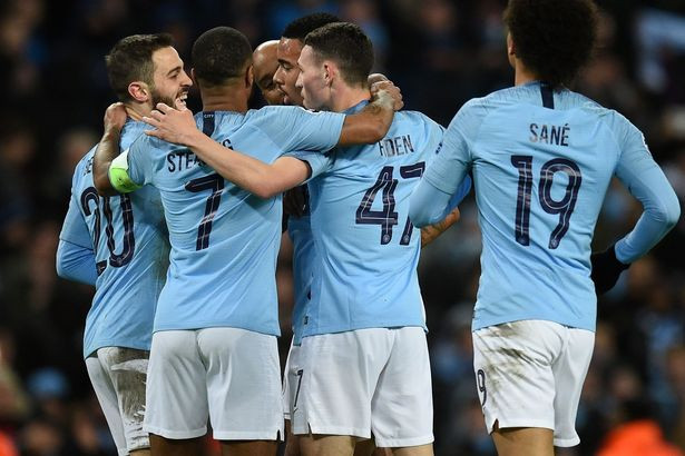 City will now wait for their quarter-final opponents during Friday's UCL draw as they remain on course for an unprecedented quadruple. [AFP/Getty]