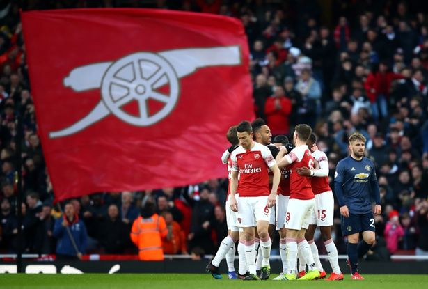 Arsenal secured a huge win over Man Utd at the Emirates. (Julian Finney)