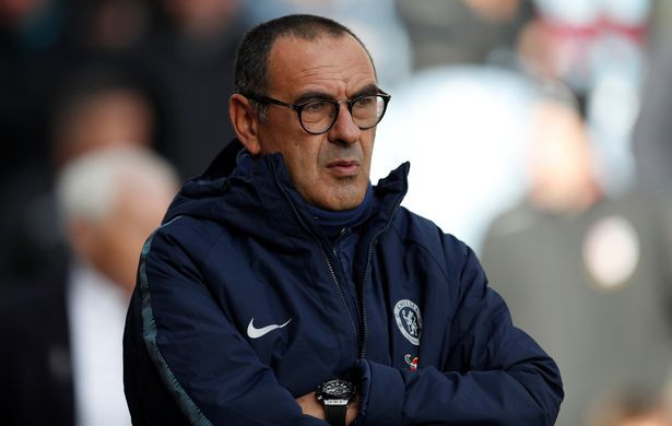 Chelsea boss Maurizio Sarri. (Reuters)