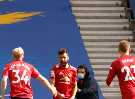 """Man Utd ace Bruno Fernandes after win over Brighton: """"We have to do much better."""""""