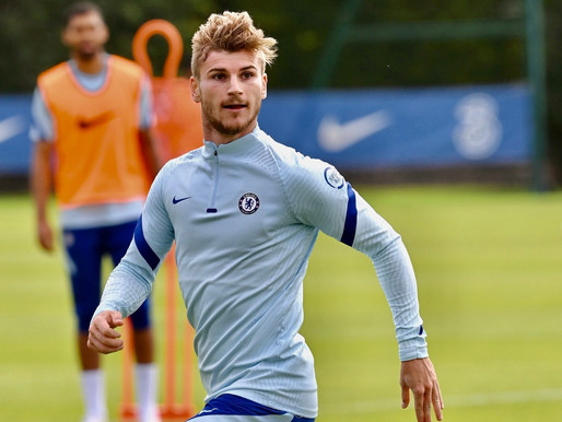Chelsea forward Timo Werner enjoying working with Frank Lampard.