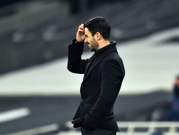 Arteta: We deserved to lose the game against Liverpool.