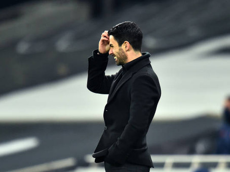 Mikel Arteta disappointed with Arsenal's end product in the north London derby.