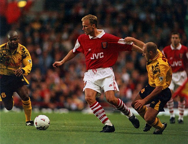 Henry also says he had to fight for his place when he first arrived, calling Dennis Bergkamp a 'God'.