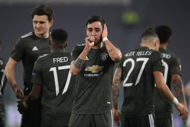 Bruno Fernandes has scored 21 goals in all competitions for Man Utd. [Getty]