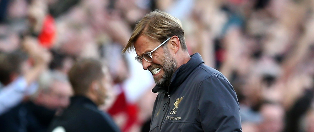 Jurgen Klopp's Reds lead Manchester City by 25 points with nine matches left to play. [Getty]