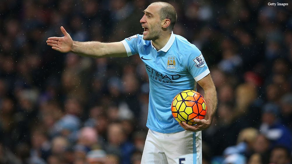 Pablo Zabaleta spent 9 trophy-laden years at the Etihad [GETTY]