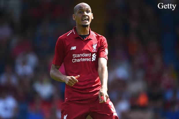 FABINHO: I JOINED LIVERPOOL FOR TITLES