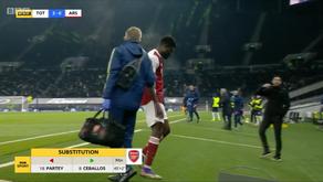 "Thomas Partey won't participate in Arsenal's ""next few matches""."