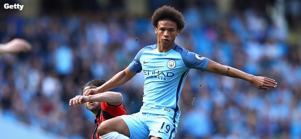 Sane his one year left on his Manchester City deal.