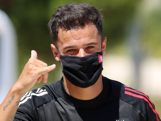 Philippe Coutinho reacts to reports linking him to Arsenal.