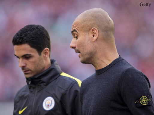 "Man City boss Guardiola: ""To compete we need good opponents close."""