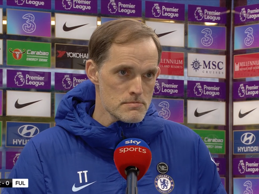 Tuchel and Havertz react after Chelsea beat Fulham.