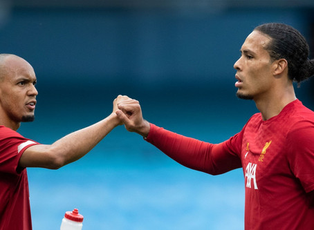 Liverpool's Van Dijk paid tribute to his teammate Fabinho.