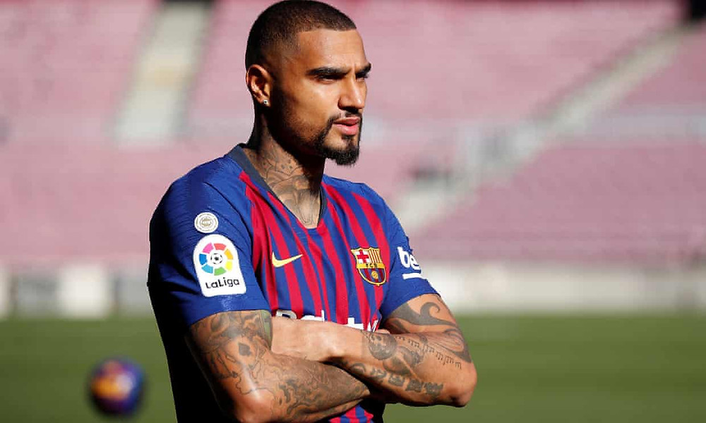 Kevin-Prince Boateng is Barcelona's short-term solution to a specific problem up front. [Albert Gea/Reuters]
