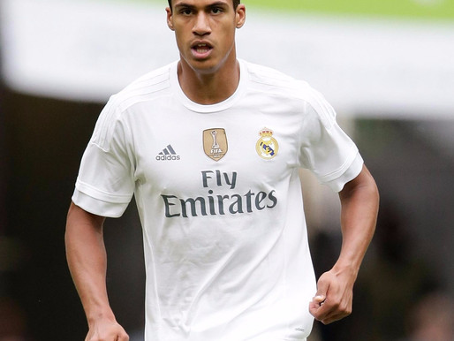 Meunier Picks Varane for Ballon d'Or Ahead of Neymar and Hazard.