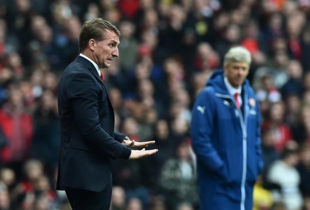 Brendan Rodgers and Arsene Wenger.