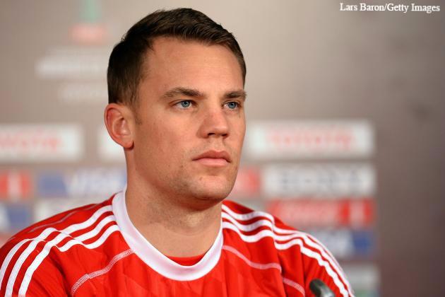 Neuer has one more season to run on his Bayern Munich deal.