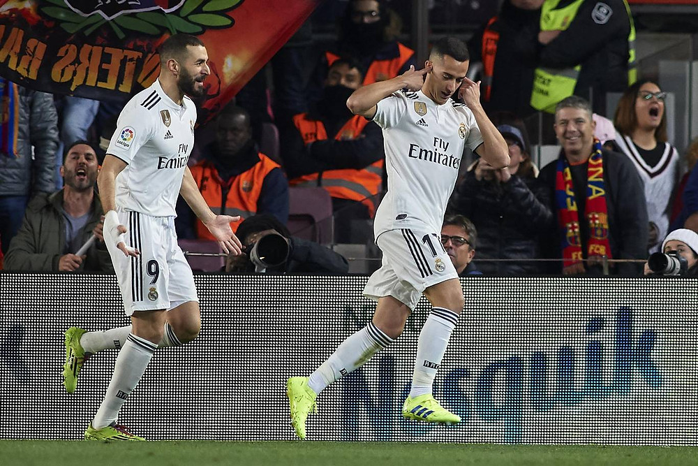 Vazquez opened the scoring for Real Madrid after just five minutes. [Getty]