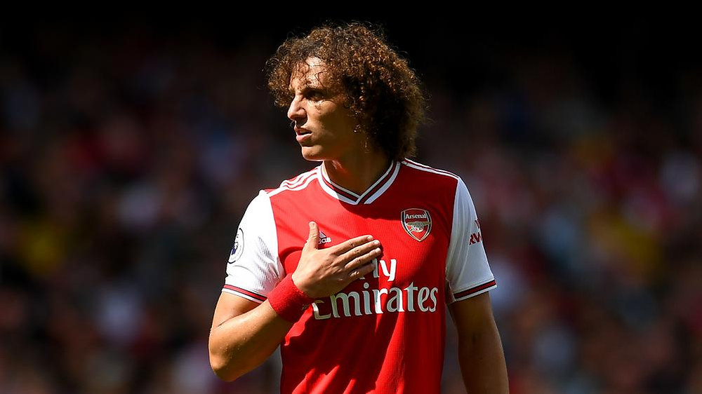David Luiz is keen to extend his stay at Arsenal. [Getty]