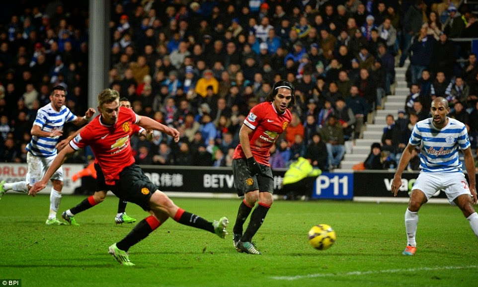 James Wilson scored the second goal for the Reds at Loftus Road.
