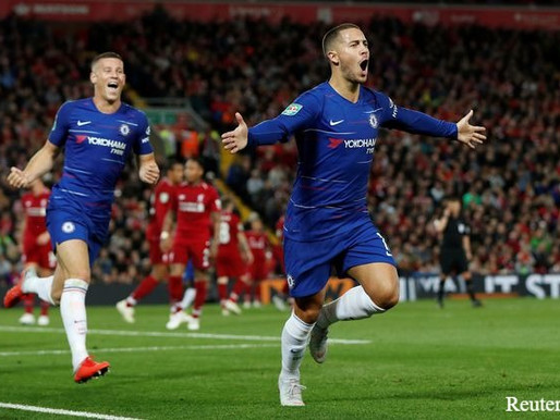Chelsea midfielder: Hazard is a magnificent player.
