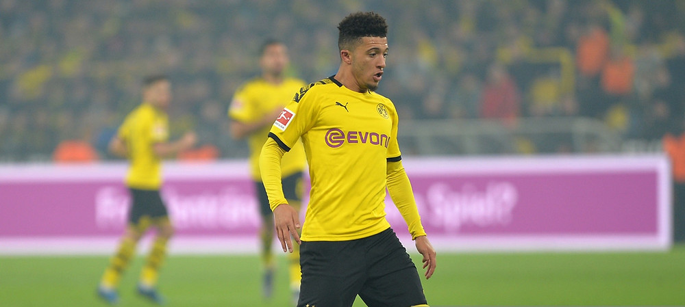 Sancho joined Dortmund from Manchester City in 2017. [Getty]