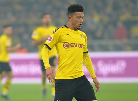 Borussia Dortmund head coach Lucien Favre says Jadon Sancho will stay.