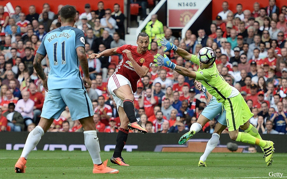 Ibrahimovic spent a little over 18months at Old Trafford and proved his worth to the United fans. (Image: Getty Images)