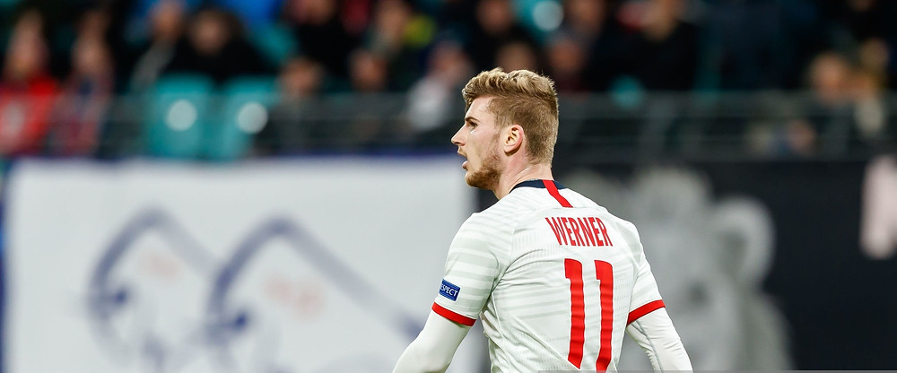 Timo Werner scored twice against Augsburg on Saturday to become RB Leipzig's all-time leading scorer. [Getty]