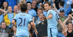 Lampard's equaliser secured a point for the Citizens.