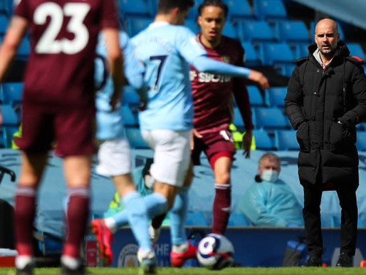Guardiola after Leeds 2-1 win over Man City: We didn't control it.