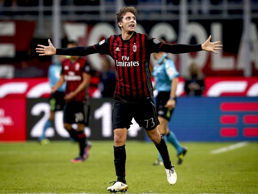 Future AC Milan and Italy Star.